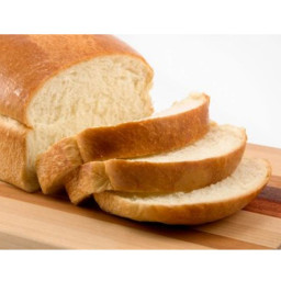 Tender white bread loaf
