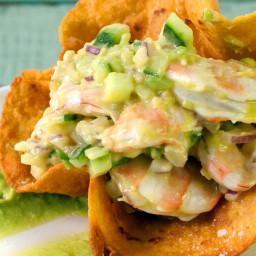 Tequila Lime Shrimp Ceviche