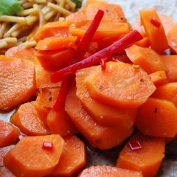 Teriyaki Carrots