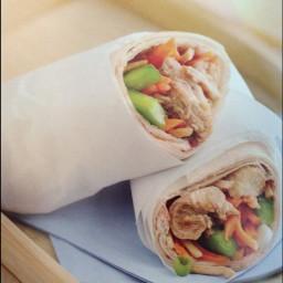 Teriyaki Sesame Chicken Wraps