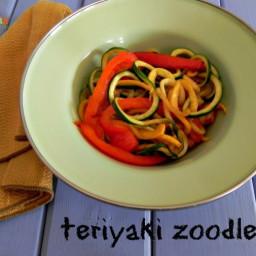 Teriyaki Zoodles