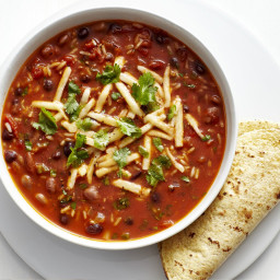 Tex-Mex Bean Soup with Rice