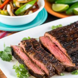 Tex-Mex Beef Fajitas