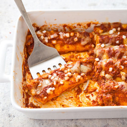 Tex-Mex Cheese Enchiladas