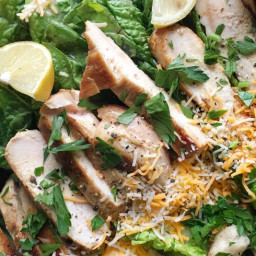 Tex-Mex Chicken Caesar Salad