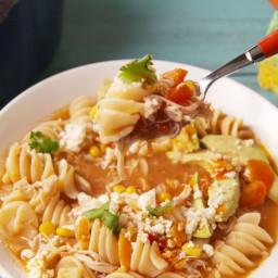 Tex-Mex Chicken Noodle Soup