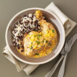 Tex-Mex Chicken with Black Beans and Rice Recipe