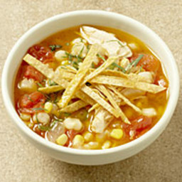 Tex-Mex Chile-Lime Chicken Soup