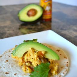 Tex-Mex Chorizo and Egg Breakfast Tacos