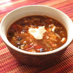 Tex Mex Fiesta Soup