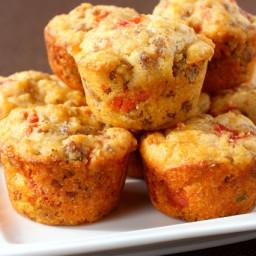 Tex-Mex Sausage Corn Muffins