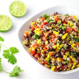 Tex Mex Vegetarian Quinoa Salad