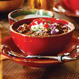 Texas Beef Chili with Poblanos and Beer