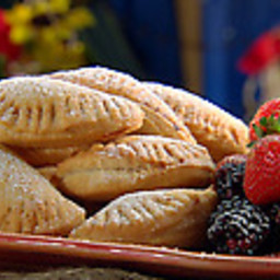 Texas Blackberry and Strawberry Empanadas