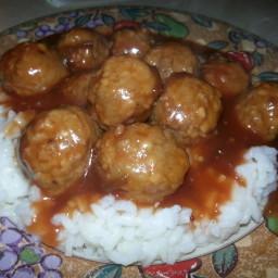 Texas Meatballs