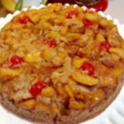 Texas Peach Upside Down Cake