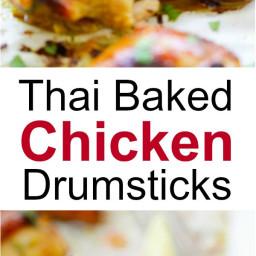 Thai Baked Chicken Drumsticks