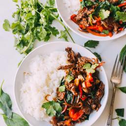 Thai Basil Beef (Pad Gra Prow)
