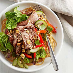 Thai Beef and Noodle Salad
