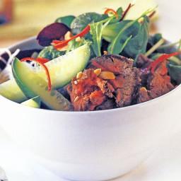 Thai beef salad (gluten-free)