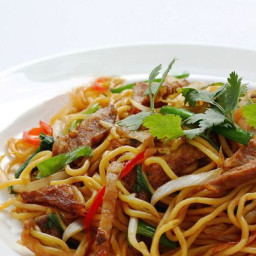 Thai Beef Stir-Fried Noodles