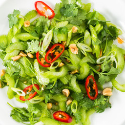 Thai Celery Salad with Peanuts