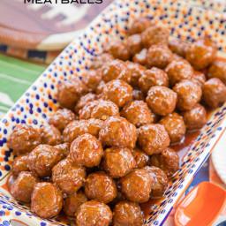 Thai Chili and Cranberry Meatballs