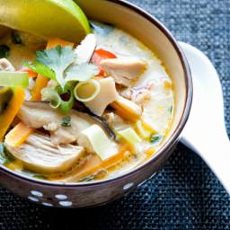 Thai Coconut soupRecipe