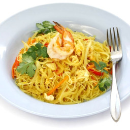 Thai Curried Noodles with Tofu