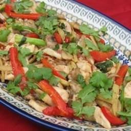 Thai Ginger Chicken (Gai Pad King)
