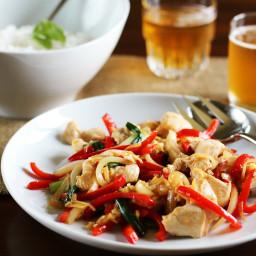 Thai Ginger Chicken Stir-Fry (Gai Pad Khing)