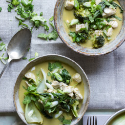 Thai Green Curry with Homemade Curry Paste