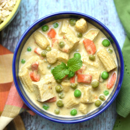 Thai Green Curry with Tofu- Instant Pot / Pressure Cooker