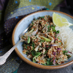 Thai-Inspired Pork Salad