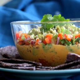 Thai Layered Dip. Vegan Recipe