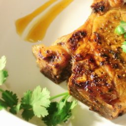 Thai Marinated Pork w/ Ginger Gastrique