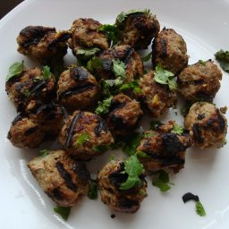 Thai Meatballs on Skewers