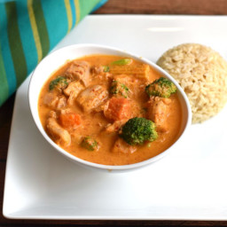 Thai Panang Curry in Instant Pot Pressure Cooker