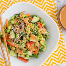 Thai Peanut Empowered Noodle Bowl