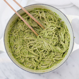 Thai Pesto Pasta (Gluten Free, Vegan, Refined Sugar Free)