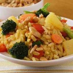 Thai Pineapple Stir-Fried Rice