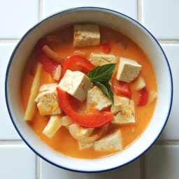 Thai Red Coconut Curry with Tofu