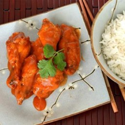 Thai Red Curry Hot Wings