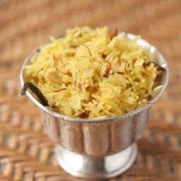 Thai Saffron Coconut Rice Recipe