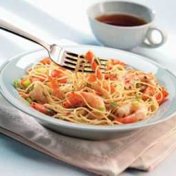 Thai Shrimp and Noodles Recipe