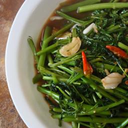 Thai Stir Fry Morning Glory