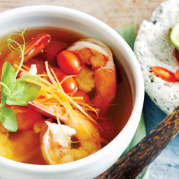 Thai-Style Hot And Sour Prawn Soup