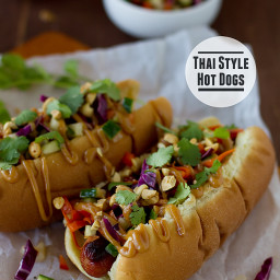 Thai-Style Hot Dogs