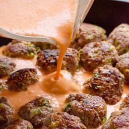 Thai Turkey Meatballs in 30 Minutes