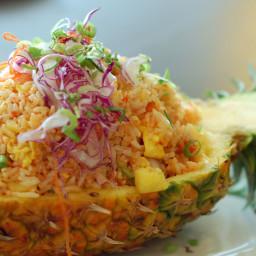Thai Vegetarian Pineapple Fried Rice